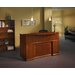 <strong>Sorrento Series Reception Desk with Veneer Counter</strong> by Mayline Group