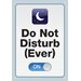 NMR Distribution Do Not Disturb Tin Sign Textual Art