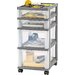 """<strong>26"""" 4-Drawer Cart</strong> by Iris"""