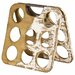 <strong>Vino 9 Bottle Holder in Natural / White Wash (Set of 2)</strong> by Amalfi