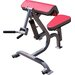Quantum Fitness Adult Quick Circuit Commercial Arm Curl / Tricep Adjustable Hyperextension Bench