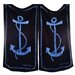 Anchor Provence Beach Towel