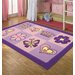 EasyBuy Flowers Kids Rug