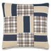 Ryder Patchwork Accent Pillow by Eastern Accents