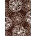 <strong>Davin Brown / White Abstract Rug</strong> by Chandra Rugs