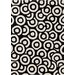 <strong>Davin Black / White Geometric Rug</strong> by Chandra Rugs