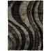 Chandra Rugs Flemish Black/Gray Area Rug