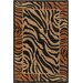 <strong>Safari Zebra Print Flora Rug</strong> by Chandra Rugs