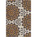 <strong>Amy Butler Orange Wallflower Rug</strong> by Chandra Rugs