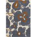 Chandra Rugs Amy Butler Morning Glory Blue Area Rug