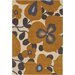 <strong>Chandra Rugs</strong> Amy Butler Morning Glory Orange Rug