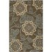 Chandra Rugs Rowe Brown/Tan Area Rug