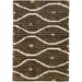 Chandra Rugs Strata Brown Area Rug