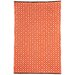 Kimberley Orange Geometric Rug Fab Rugs