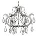 Xanadu 6 Light Mini Candle Chandelier