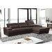 Digo Leather Sectional by Hokku Designs