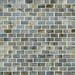 Shaw Floors Glass Expressions Frosted Micro Blocks Accent Tile in Seaglass