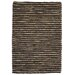 <strong>Kosas Home</strong> Valerie Black Pepper Wool Jute Rug