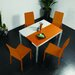 <strong>Orlando 5 Piece Dining Set</strong> by Creative Furniture