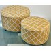 <strong>TLC Home</strong> 2 Piece Vancouver Ottoman Set