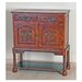 <strong>International Caravan</strong> Windsor Hand Carved Wood Hall Console Table