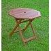 <strong>Highland Acacia Folding Patio Table</strong> by International Caravan