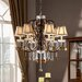 <strong>Kingstown Home</strong> Cortona 6 Light Crystal Chandelier