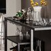 Holly & Martin Zephs Bar Serving Cart