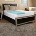 "<strong>Comfort Blend</strong> 4"" Memory Foam Textured Mattress Topper"