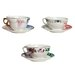 Seletti Hybrid Porcelain Teacup and Saucer Set