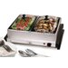 <strong>Elite by Maxi-Matic</strong> Gourmet 5-qt. Stainless Steel Electric Buffet Server