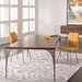 """Saloom Furniture Peter Francis 74"""" L Extendable Dining Table"""