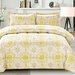 3 Piece Ikat Medallion Comforter Set by Cathay Home, Inc