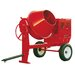 4 Cubic Foot Honda GX-120 Steel Drum Concrete Mixer