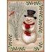 Winter Seasonla Snowman Novelty Rug