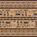 Pastiche Wide Ruins Velvet Brown Rug