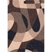 <strong>Modern Times Element Dark Brown Rug</strong> by Milliken