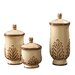 <strong>3 Piece Decorative Canister Set</strong> by Howard Elliott