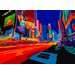 The Artwork Factory Vibrant City Graphic Art on Canvas