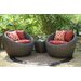 <strong>Corona 3 Piece Deep Seating Group with Cushion</strong> by AE Outdoor