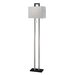 Table Lamp in Silver/Black