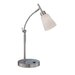 Fiamma Desk Lamp in Polished Steel