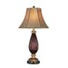 """Lite Source Rhoda 32"""" H Table Lamp with Bell Shade"""