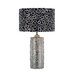 Silvio Ceramic Table Lamp in Silver