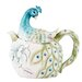 <strong>Peacock 1.13-qt. Teapot</strong> by Edie Rose