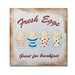 "Retro Kitchen 1 Printed Canvas Art - 12"" X 12"""