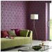 Vogue Plum Wallpaper by Superfresco