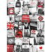 <strong>Graham & Brown</strong> Graham and Brown London Montage Vintage Advertisement on Canvas