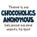 Chocoholics Anonymous Apron