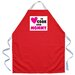 <strong>Attitude Aprons by L.A. Imprints</strong> Cook with Mommy Apron in Red